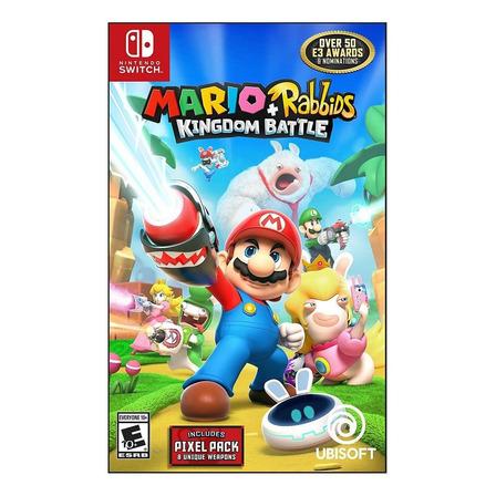 Mario + Rabbids Kingdom Battle Ubisoft Nintendo Switch  Físico