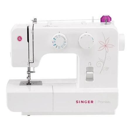 Máquina de coser recta Singer Promise 1412 portable blanca 120V