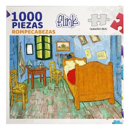 Rompecabezas Flink Van Gogh, La Habitación de Arlés de 1000 piezas