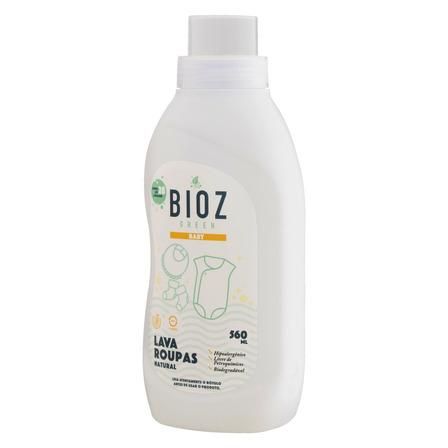 Sabão líquido Bioz Green Baby Natural frasco 560ml