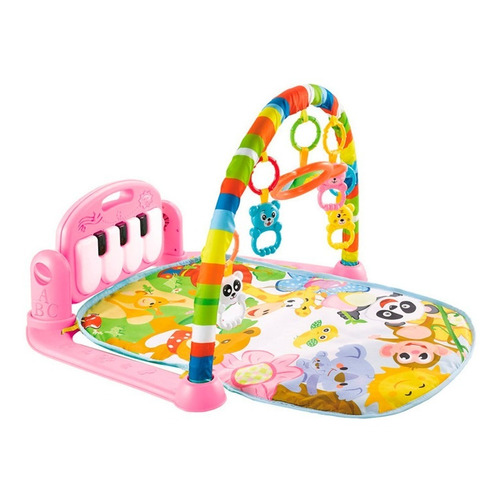 Gimnasio Para Bebe Con Piano Con Accesorios Hts