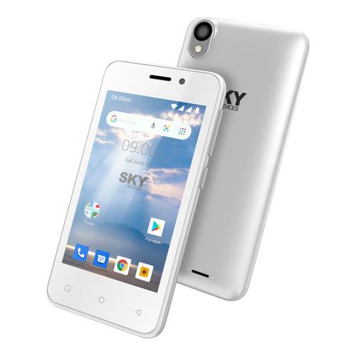 Celular Libre Dual Sim Sky P4 Cámara 8gb 1gb Plateado