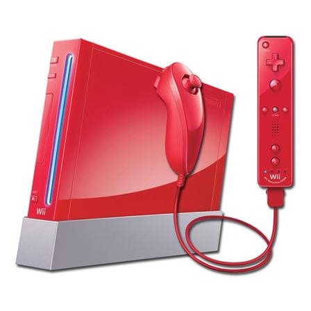 Nintendo Wii 512MB Super Mario Bros. 25th Anniversary Edition  color rojo