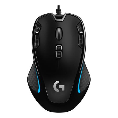 Mouse de juego Logitech G300S G Series negro