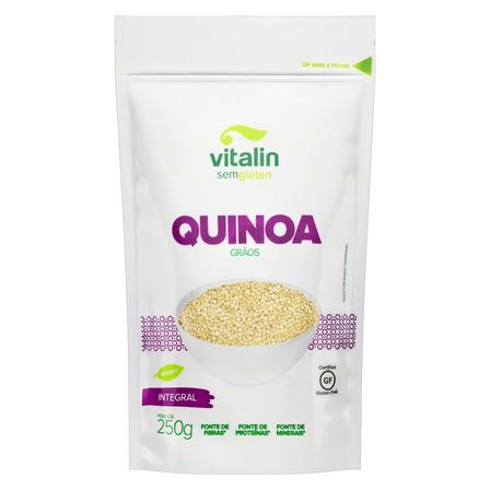 Quinoa em Grãos Integral Vitalin Pouch 250g