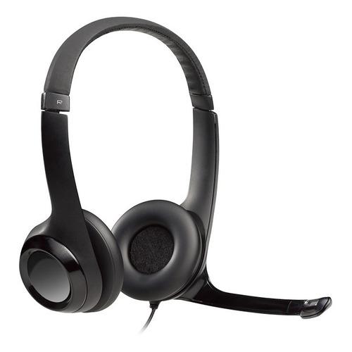 Auriculares Logitech H390 negro