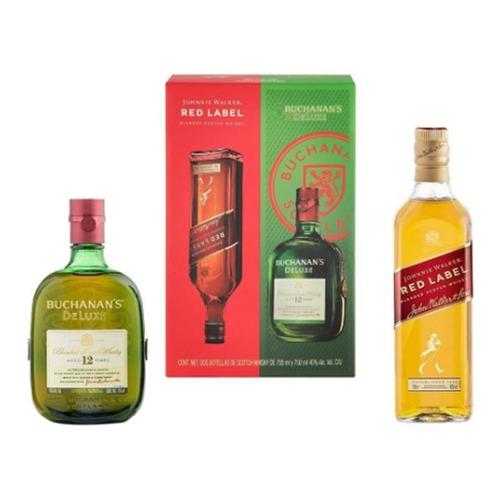 Whisky Johnnie Walker Red Label 700 Ml + 1 Buchanan's 750 Ml