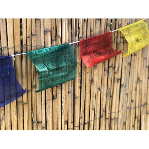 Banderas Tibetanas Tamaño Mediano (5 Rollos Por Paquete)