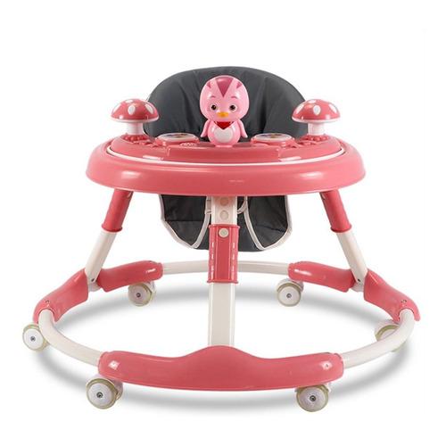 Andador Caminador Plegable P/ Bebé + Tablero De Juego El Rey
