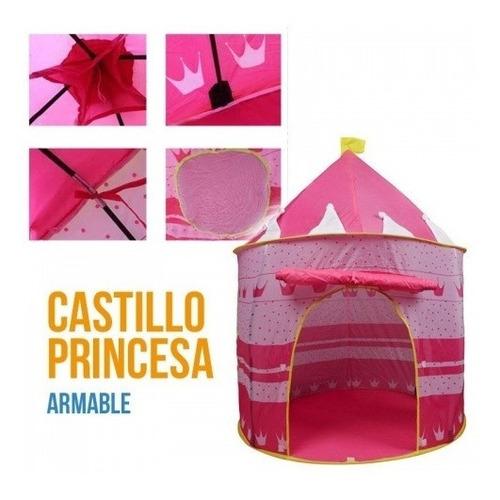 Carpa Infantil Rosada, Princesa