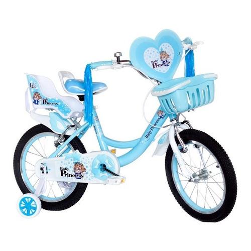 Bicicleta Para Niñas Rin 16 Con Accesorios Wuilpy
