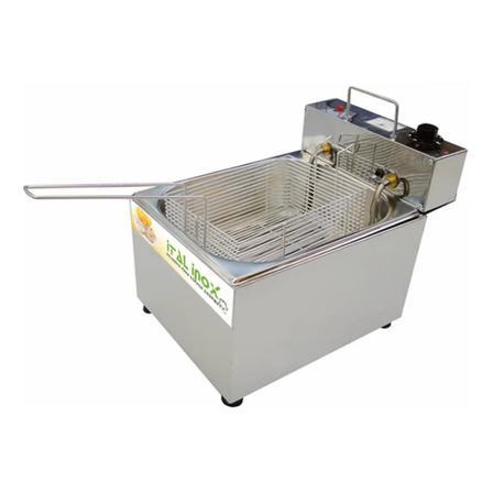Fritadeira industrial elétrica Ital Inox FEOI 5 5L prata 220V