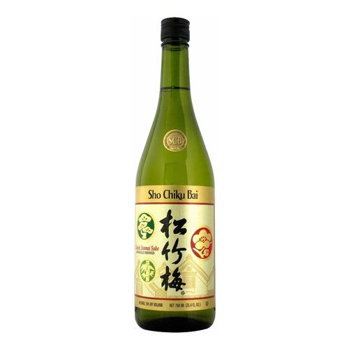 Sake Sho Chiku Bai (vino De Arroz) 750ml