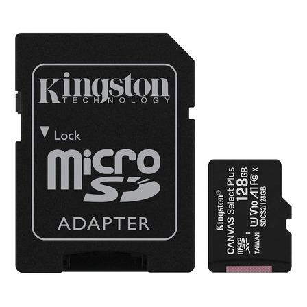 Cartão de memória Kingston SDCS2SP  Canvas Select Plus com adaptador SD 128GB