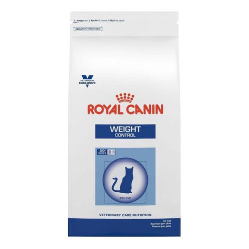 Alimento Royal Canin Veterinary Care Nutrition Feline Weight Control para gato adulto sabor mix en bolsa de 8kg