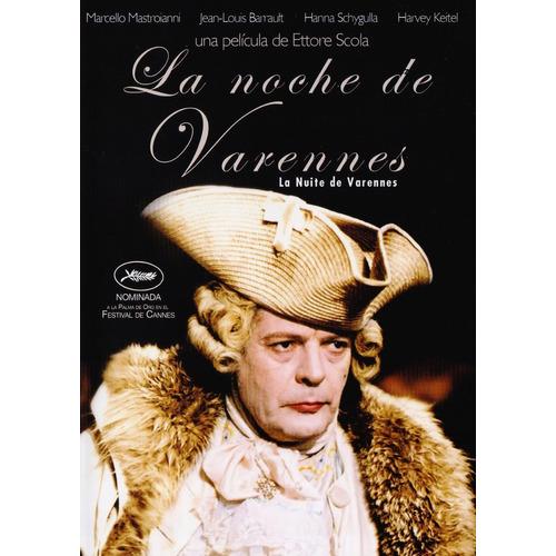 La Noche Del Varennes La Nuite De Varennes Pelicula Dvd