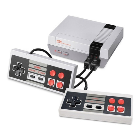 Consola Level Up Retro Nes HDMI blanca y gris