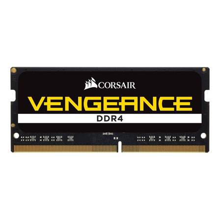 Memória RAM Vengeance color Preto  32GB 1x32GB Corsair CMSX32GX4M1A2666C18