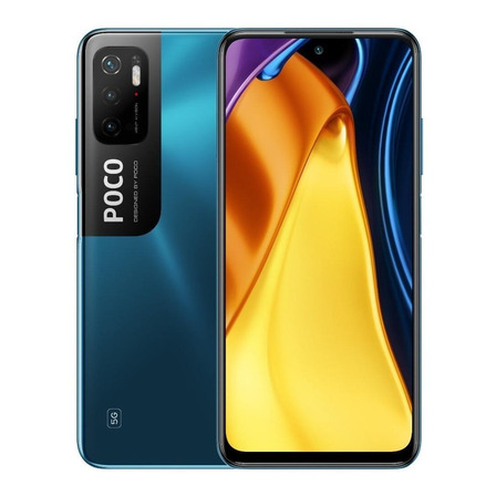 Xiaomi Pocophone Poco M3 Pro 5G Dual SIM 128 GB azul hielo 6 GB RAM