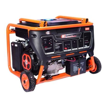 Generador portátil Lusqtoff LG8500EX 8500W monofásico con tecnología AVR 220V