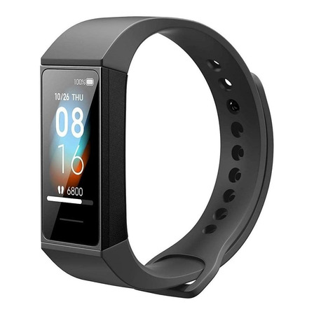 "Xiaomi Mi Smart Band 4c 1.08"" caixa de  plástico pc  graphite black pulseira  graphite black de  tpu HMSH01GE"