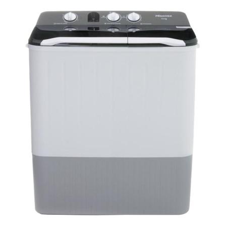 Lavadora semiautomática Hisense WSA1302P blanca 13kg 127V