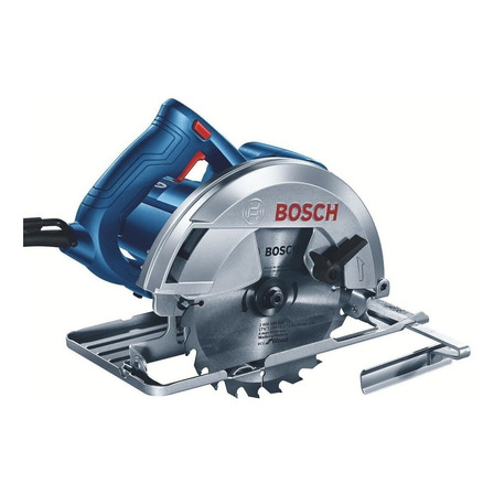 Serra circular elétrica Bosch GKS 150 184mm 1500W azul 110V