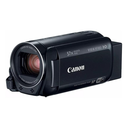 Câmera de vídeo semiprofissional Canon Vixia HF R80 Full HD  1959C001AA preta