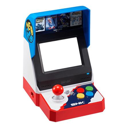 Consola SNK Neo Geo mini Standard  color azul, blanco y rojo