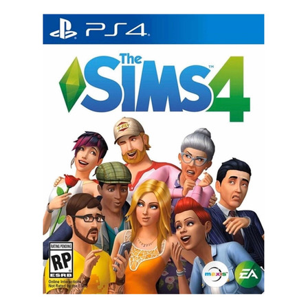 The Sims  4 Standard Edition Electronic Arts PS4 Digital