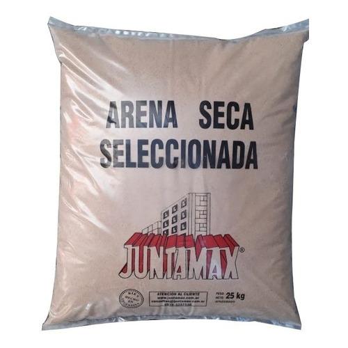 Arena Seca Seleccionada Juntamax X 25 Kg.