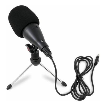 Microfone Arcano Nabuc condensador  cardióide preto