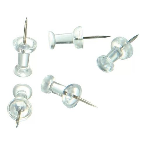 Push Pins Transparente