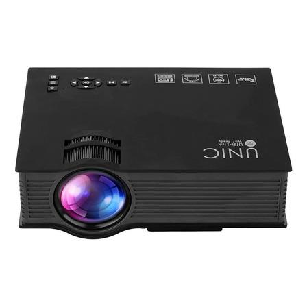 Proyector mini Unic UC46+ 1200lm negro 100V/240V