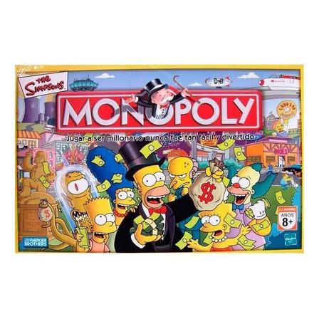 Juego de mesa Monopoly Los Simpson Hasbro