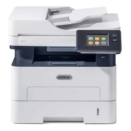 Impresora multifunción Xerox B215 con wifi blanca y negra 110V - 120V