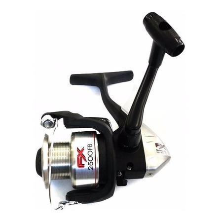 Reel frontal Shimano FX 2500 FB derecho/izquierdo color plateado/negro