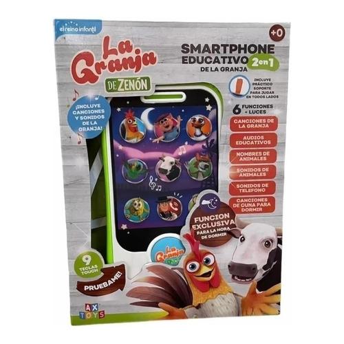 Celulare Smartphone Educativo Musical Granja De Zenon Ls009