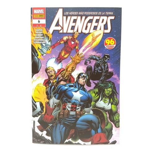 Marvel Comic Avengers Tomo 6 Panini Original En Español