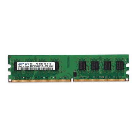 Memoria RAM  2GB 1x2GB Samsung M378T5663EH3-CF7