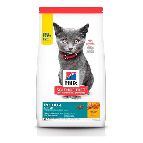 Alimento Hill's Gato De Interiores 3.2kg Gatito