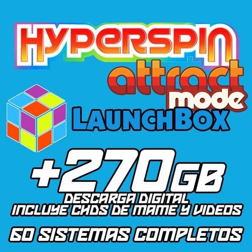 Hyperspin / Launchbox / 60 Sistemas / Descarga En +270gb