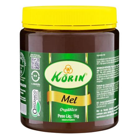 Mel líquido Korin Florada Silvestre en pote sem glúten 1 kg