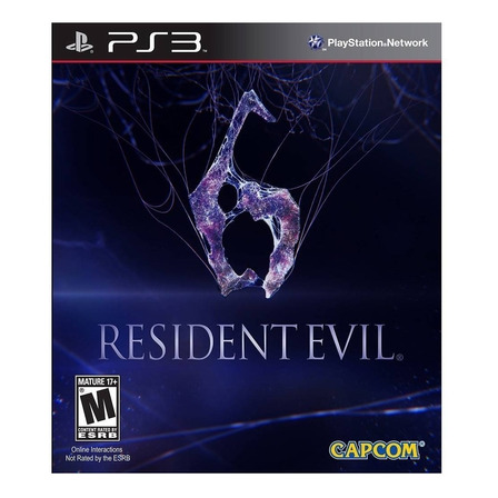 Resident Evil 6 Capcom PS3 Digital