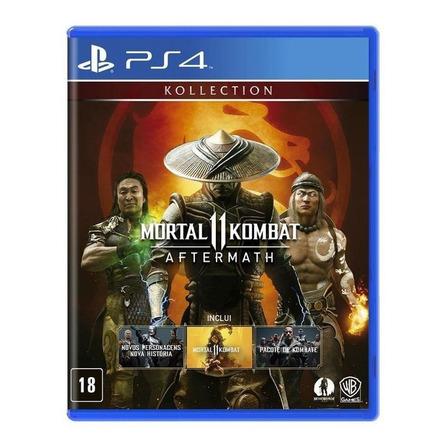 Mortal Kombat 11 Aftermath Kollection Físico PS4 Warner Bros.