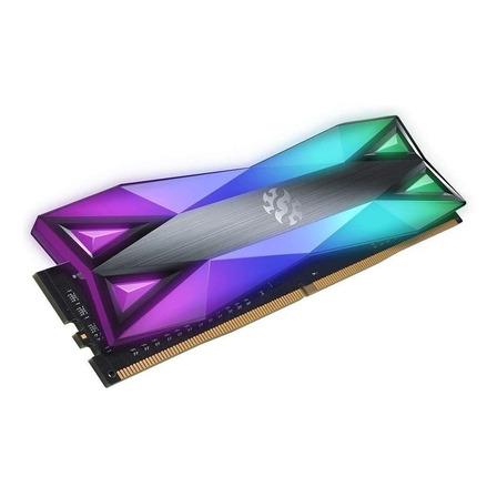 Memória RAM Spectrix D60G color Tungsten grey  32GB 2x16GB XPG AX4U3600316G18A-DT60