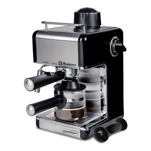 Cafetera Koblenz CKM-650 CKM-650 EIN automática gris expreso 120V
