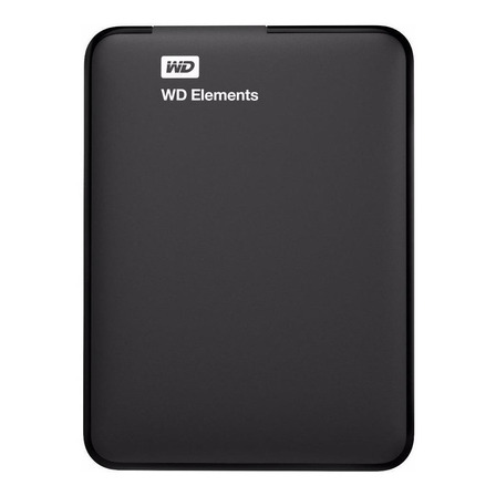 Disco rígido externo Western Digital WD Elements Portable WDBU6Y0020BBK 2TB preto