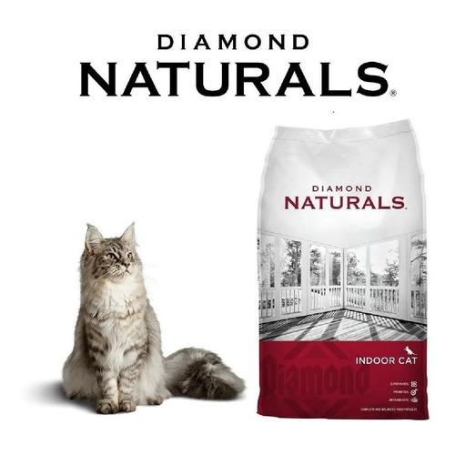 Diamond Naturals Indoorcat Hairball 8.16 Kg + Regalo