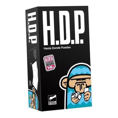 Juego de cartas H.D.P. Hasta Donde Puedas Bureau de Juegos